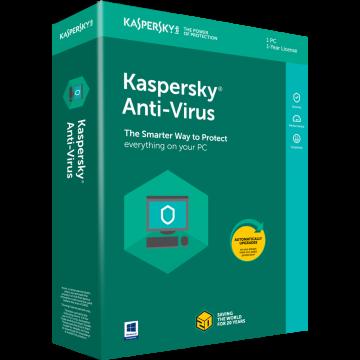 Kaspersky Anti-Virus 1 lic....